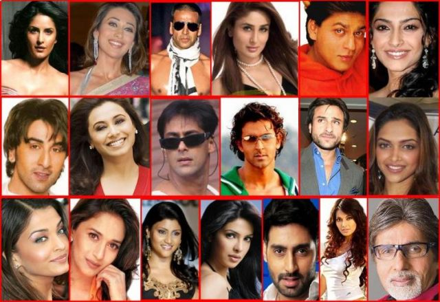 Bollywood actors and actresses height