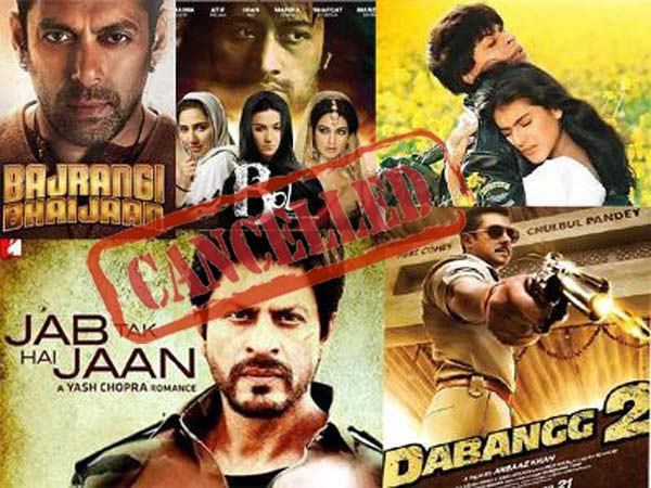 Pakistan banned Indian films