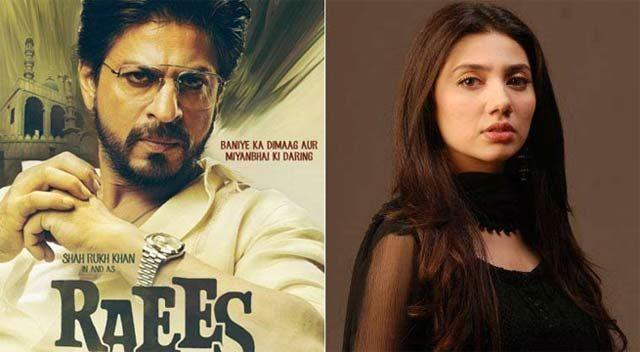 Mahira Khan dropped from Raees