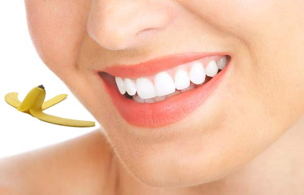 banana peel for teeth care