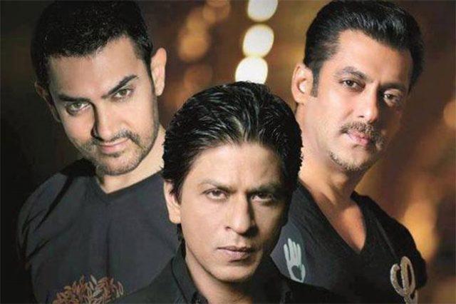 3 khan's of bollywood