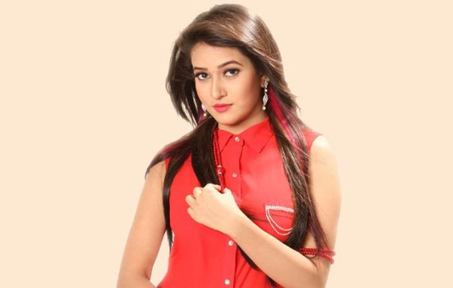 Actress Happy in a new movie