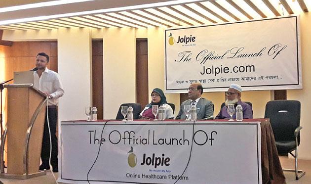 Jolpie app for online healthcare