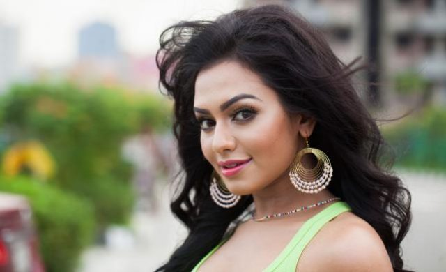 Nusraat fariya in a new look