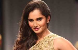 Sania mirza is in Iteam dance