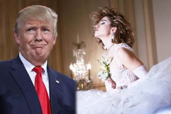 Donald tramp & Madona