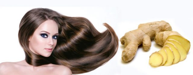 Ginger for beautiful hair
