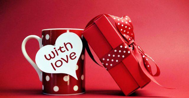 Gift of valentine's day