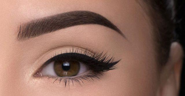Beautiful eye- brue