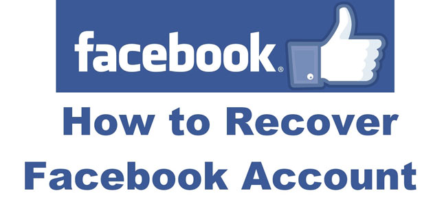 How to facebook account recovery