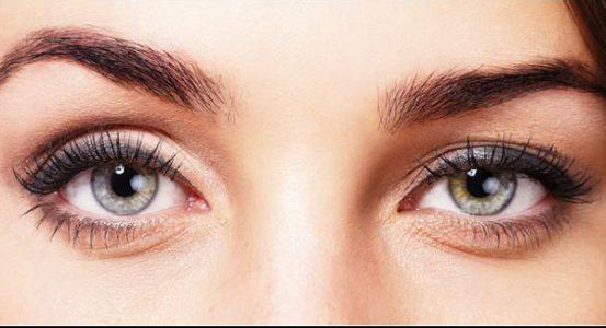 Eye region-swealing