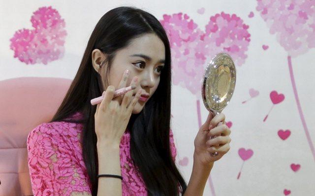 No make-up look