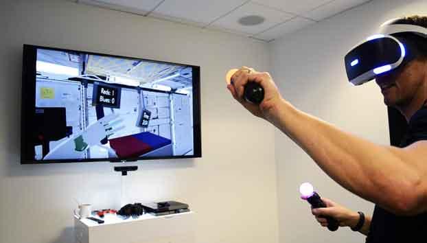 Sony brings new VR set games