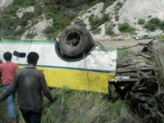 28 killed in road accident in Himachal Pradesh হিমাচল প্রদেশে বাস খাদে