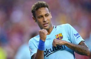 Barca is moving ahead of Neymar's goal