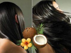 Coconut oil for hair care