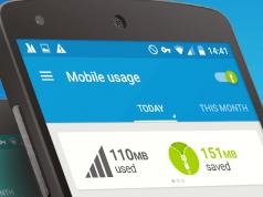 Pocket data saving apps
