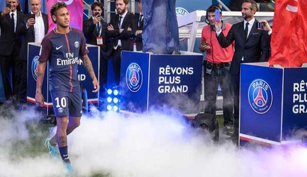Barca has filed a lawsuit against Neymar