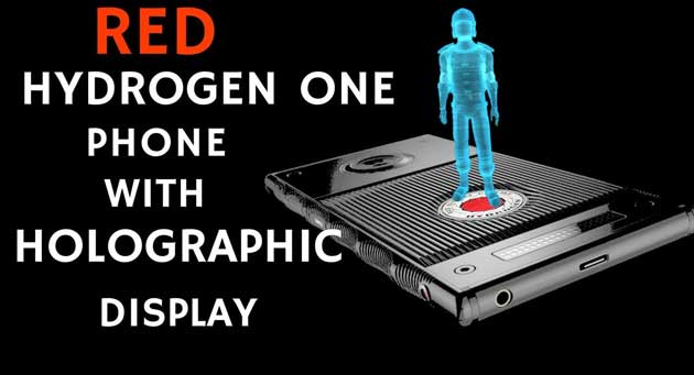 Holographic Display Smartphone - Hydrogen One হাইড্রোজেন ওয়ান