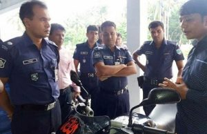 Saabuddin's 'ATS' to stop the bike