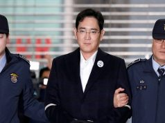 Samsung chief Lee J Young is sentenced to 5 years