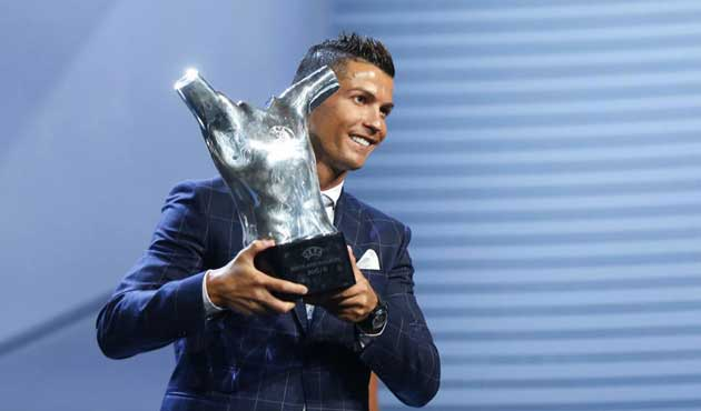 Uefa Player of the Year - Cristiano Ronaldo