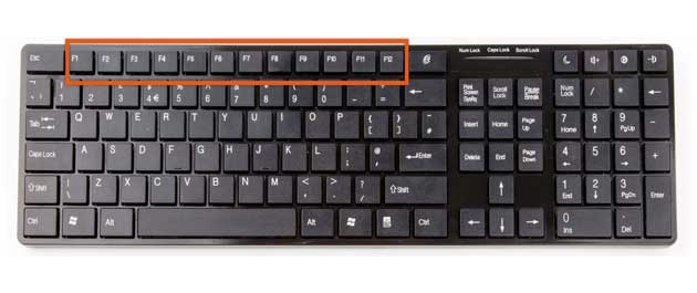 What is the function of the keyboard function key