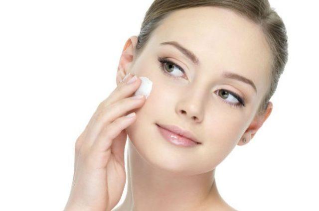 skin care with night cream