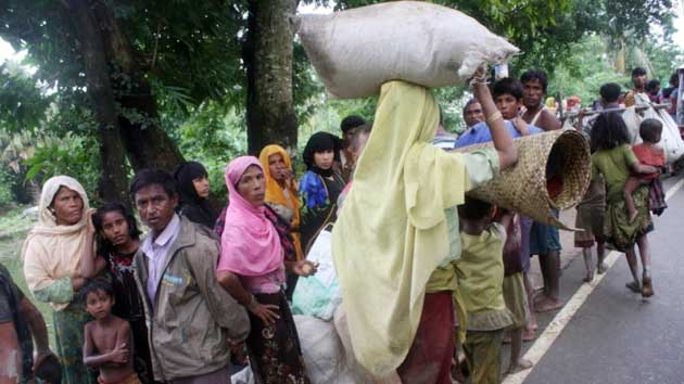 3 lakh Rohingyas enter into Bangladesh; UN