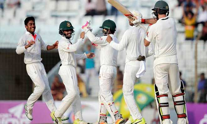 Bangladesh-Australia series ended in equality