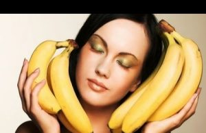 Hair care with banana