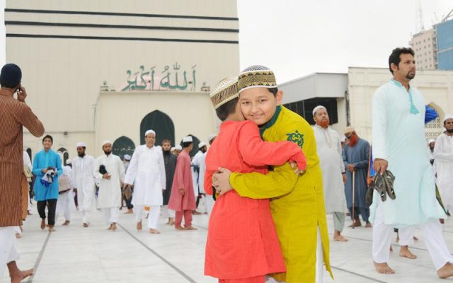 Holy Eid Azha today