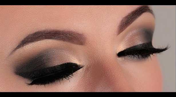 Long lasting eye make-up