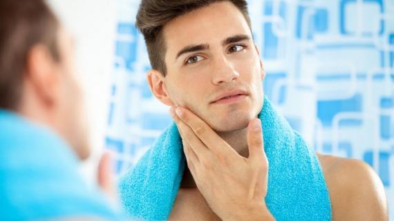 Man's skin care
