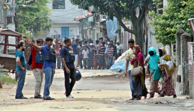Militants did not surrender militants - blasts in the dorm, shot