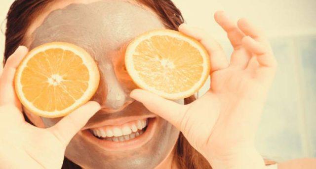 Orange for skin care
