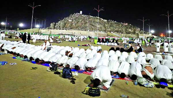 Performing holy hajj in selfishness