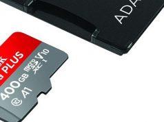 SanDisk debuts 400 GB memory card