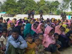The army in the field of rehabilitation of Rohingyas