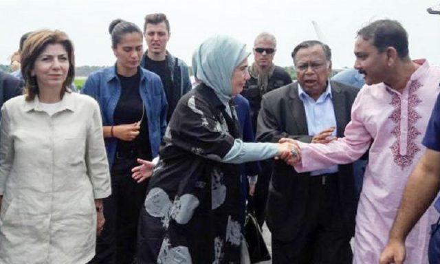 Turkish First Lady in Cox's Bazar Rohingya Camp