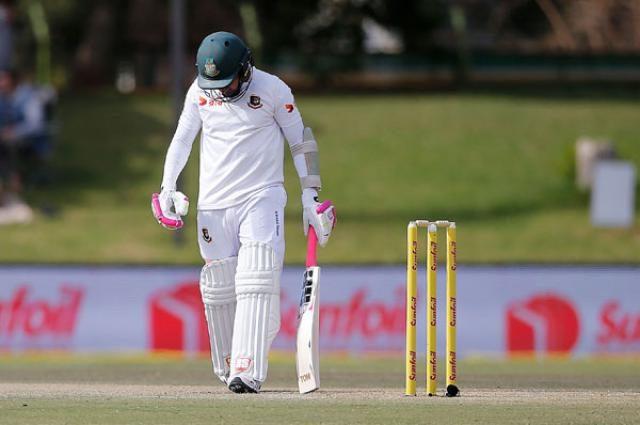 Bangladesh are behind the shame of 419 runs