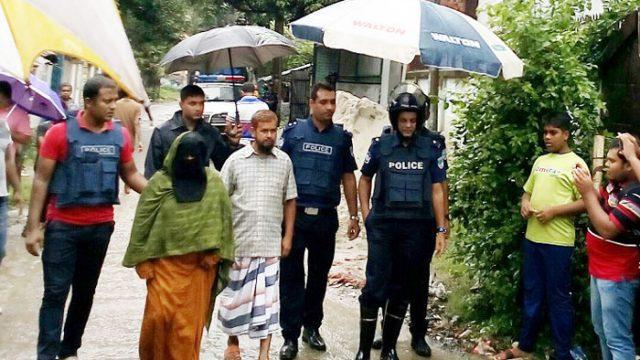 Militant Marjan's sister surrender with three children