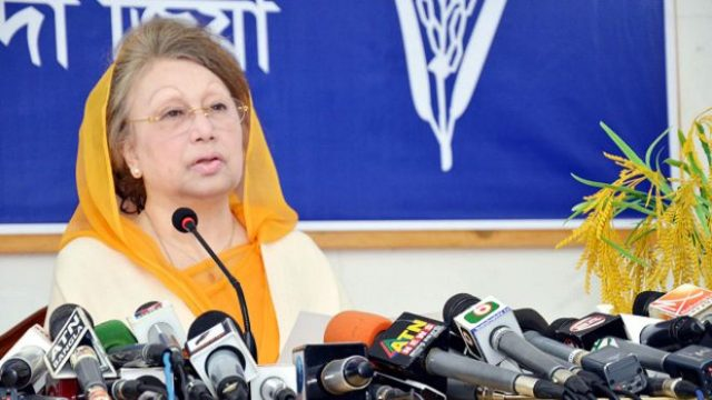 The arrest warrant issued against Khaleda Zia