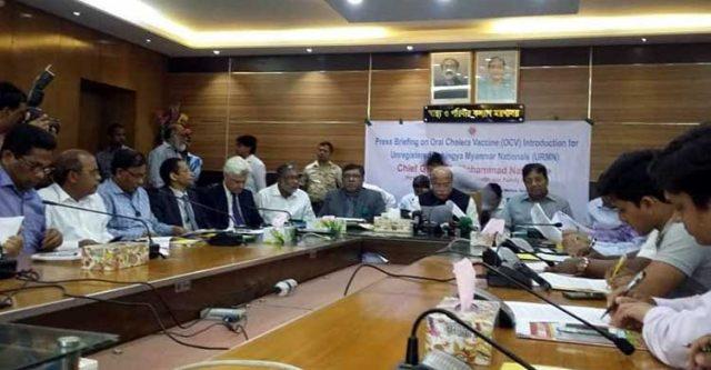 Tomorrow starting the cholera vaccination program for Rohingyas রোহিঙ্গাদের কলেরা টিকা কার্যক্রম