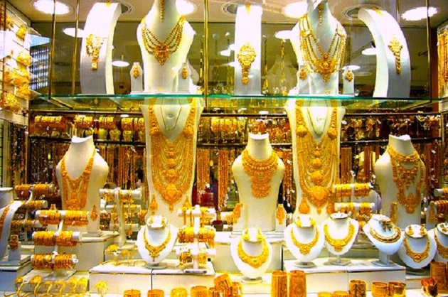 Again, the price of gold in the market increased