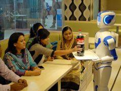 Robot restaurants in Bangladesh