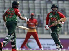 Bangladesh gave 217 run target to Zimbabwe