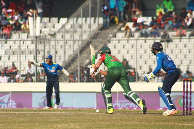 Bangladesh target for 222 runs ২২২ রানের