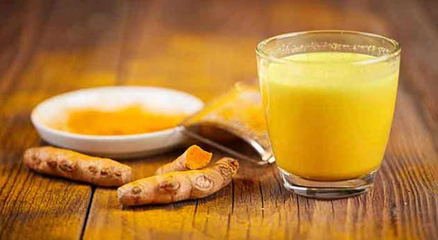 Benefits of eating turmeric milk