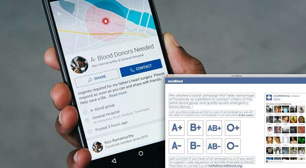 Blood Donation Service is Launching Facebook in Bangladesh